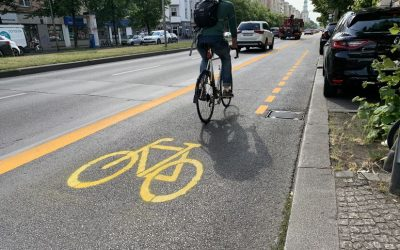 Berlin has become bike friendly within a year
